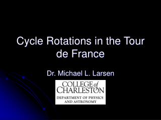 Cycle Rotations in the Tour de France