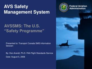 AVS Safety Management System