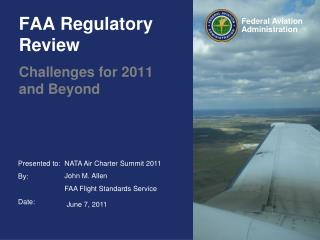 FAA Regulatory Review