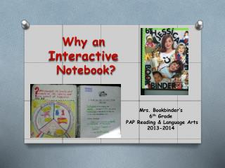 Why  an  Interactive  Notebook?