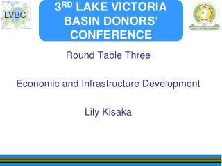 3 RD  LAKE VICTORIA BASIN DONORS' CONFERENCE