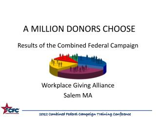 A MILLION DONORS CHOOSE