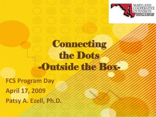 Connecting  the Dots  -Outside the Box-