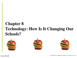 Chapter 8 Technology: How Is It Changing Our Schools?