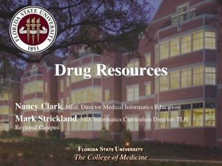 Drug Resources