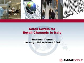 Sales Levels for Retail Channels in Italy Seasonal Trends ...
