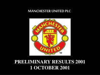 MANCHESTER UNITED PLC