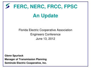 Ppt the nerc datagrid powerpoint presentation id4079104 ferc nerc frcc fpsc an update publicscrutiny Image collections