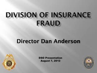 Division of Insurance fraud