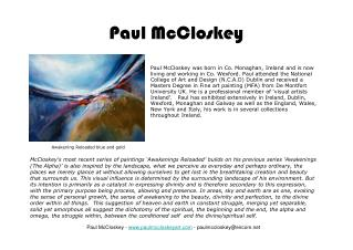 Paul McCloskey