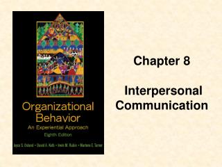 Chapter 8  Interpersonal Communication
