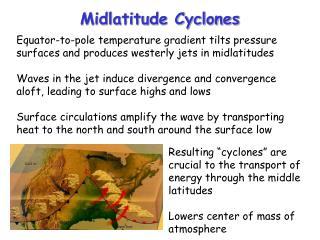 Midlatitude Cyclones