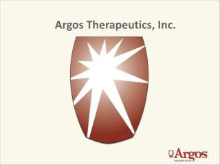 Argos Therapeutics, Inc.