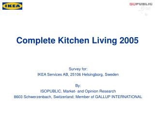 Complete Kitchen Living 2005