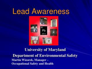 Lead Awareness