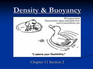 Density & Buoyancy