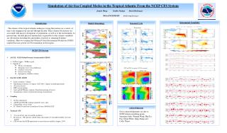 Simulation of Air-Sea Coupled Modes in the Tropical Atlantic From the NCEP CFS System