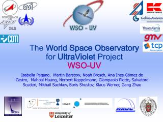 The  World Space Observatory  for  UltraViolet  Project WSO-UV