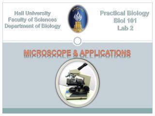Practical Biology  Biol  101 Lab 2