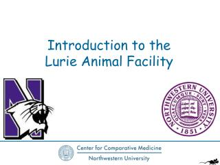 Introduction to the Lurie Animal Facility