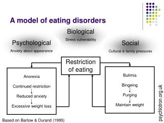 A model of eating disorders
