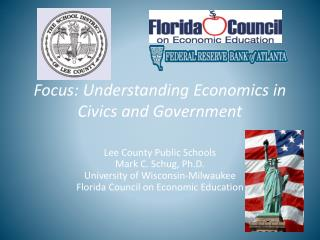 Focus: Understanding Economics in Civics and Government