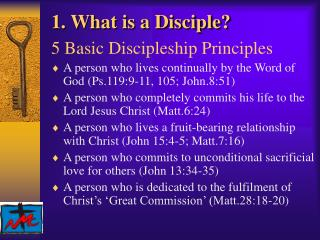 1. What is a Disciple?
