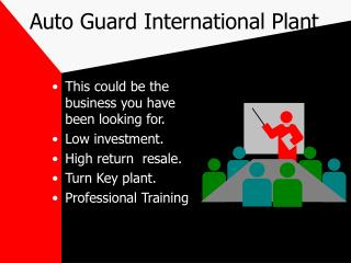 Auto Guard International Plant