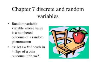 Chapter 7 discrete and random variables