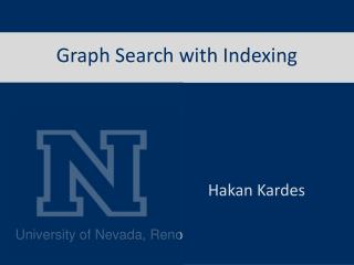 Graph Search with Indexing