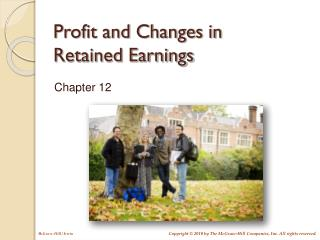 Profit and Changes in Retained Earnings