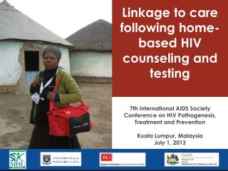 Linkage to care following home-based HIV  counseling  and testing