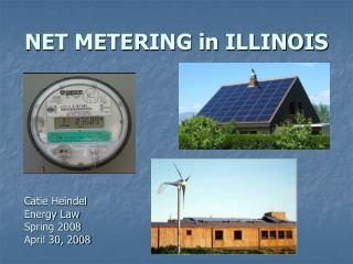 NET METERING in ILLINOIS