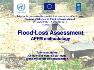 Flood Loss Assessment APFM methodology
