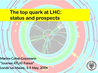The top quark at LHC:  status and prospects