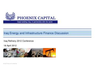 Iraq Energy and Infrastructure Finance Discussion