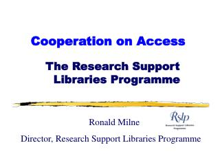 Cooperation on Access