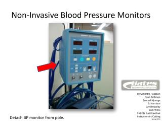 Non-Invasive Blood Pressure Monitors