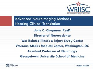 Advanced  Neuroimaging  Methods Nearing Clinical Translation