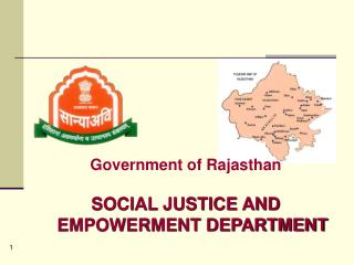 Government of Rajasthan SOCIAL JUSTICE AND EMPOWERMENT DEPARTMENT