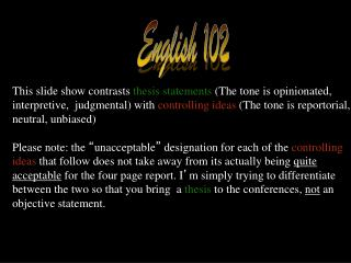 English 102