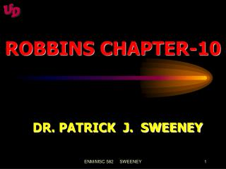ROBBINS CHAPTER-10