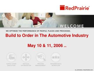 Build to Order in The Automotive Industry May 10 & 11, 2006  (002)