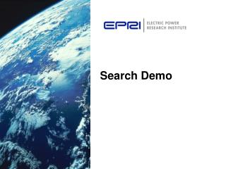 Search Demo