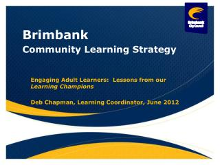 Community Learning Strategy