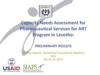 Tlai-Tlai Sepetla, Itumeleng Tshabalala & Kekeletso Ntoi March 14, 2013
