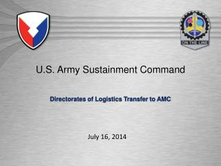 U.S. Army Sustainment Command