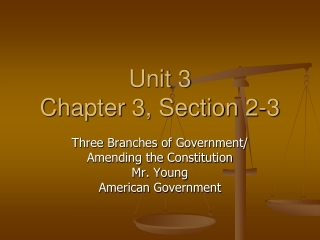 Unit 3 Chapter 3, Section 2-3
