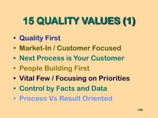 15 QUALITY VALUES (1)