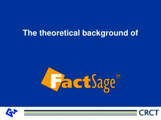 T he theoretical background of